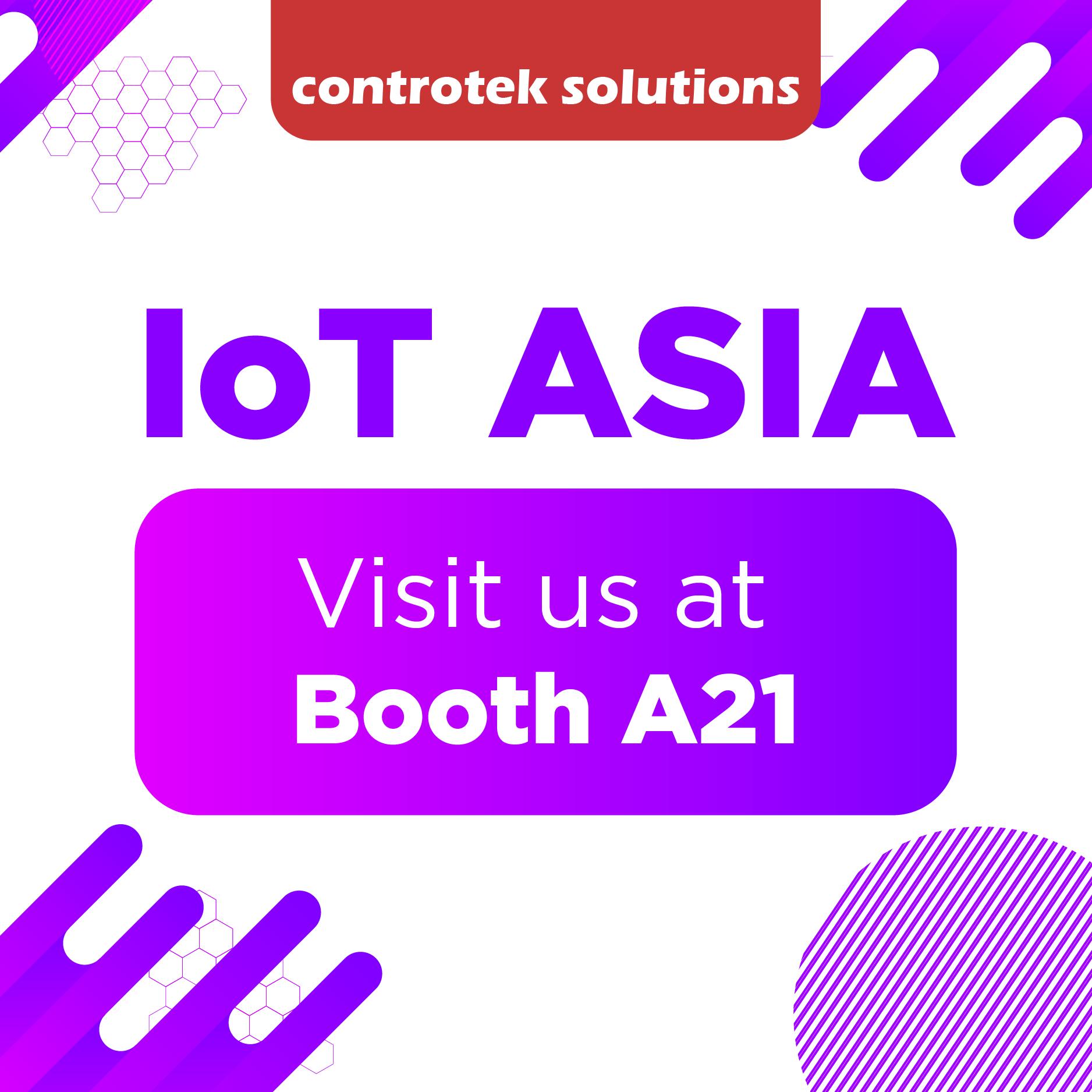 Controtek Solutions at IoT Asia 2019 - Singapore