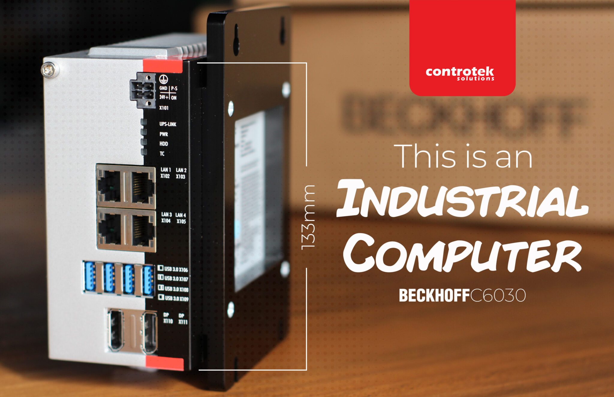 Yes, this is an Industrial Computer | Beckhoff C6030