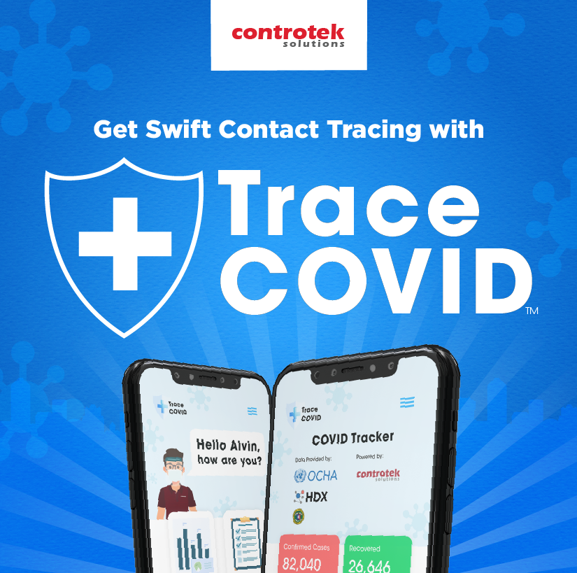 Swift contact tracing with Controtek's Trace COVID™ app