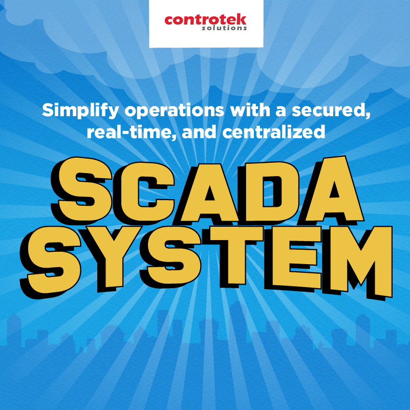 Simplify operations with a secured and real-time SCADA system