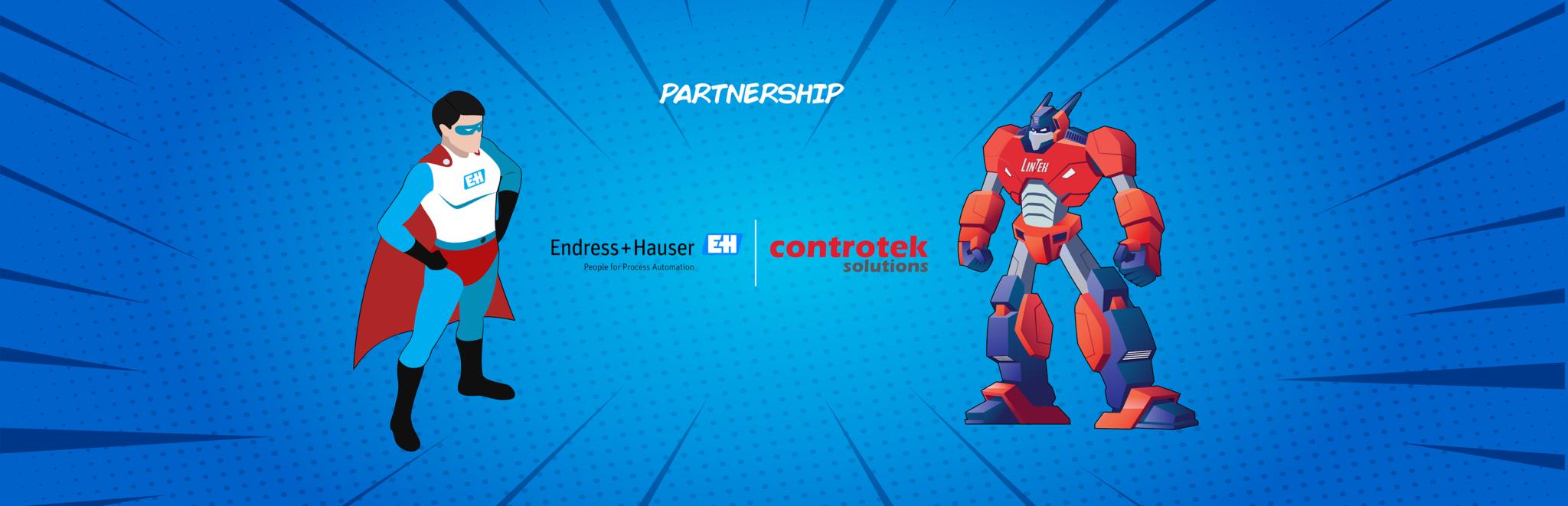 Endress+Hauser_Controtek_Partnership